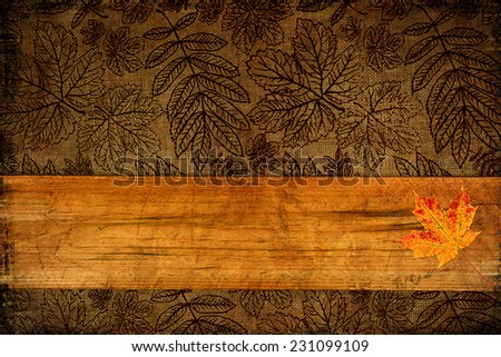 Abstract Background with place for your text Great for Thanksgiving projects - stock photo