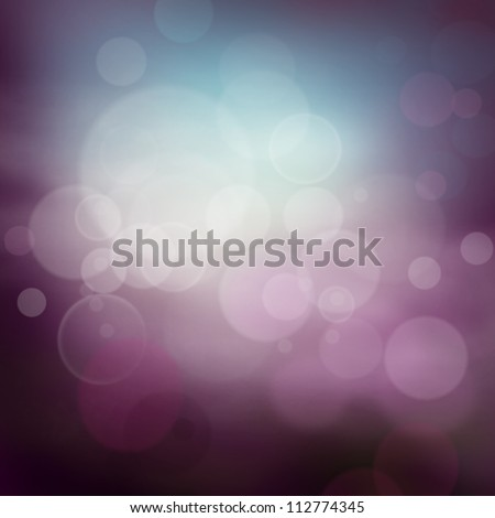Abstract  background with purple colors and bokeh lights. - stock photo