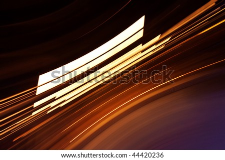 Abstract background with sharp light lines - stock photo