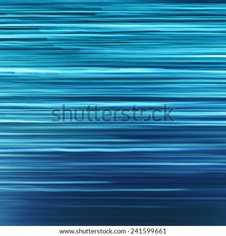 Abstract background with smooth Blue lights lines - stock photo