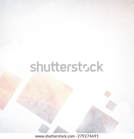 Abstract background with squares - stock photo