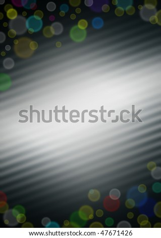 abstract background with stripes and spots