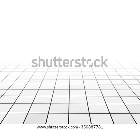 Abstract background with tiling of grey and white colors - stock photo