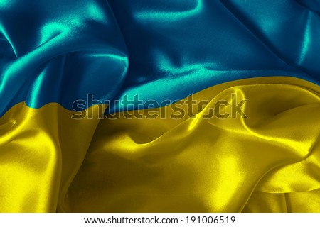 Abstract background with  Ukraine flag - stock photo