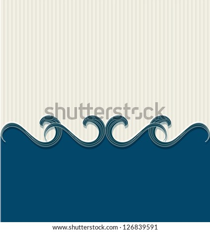abstract background with vintage striped substrate