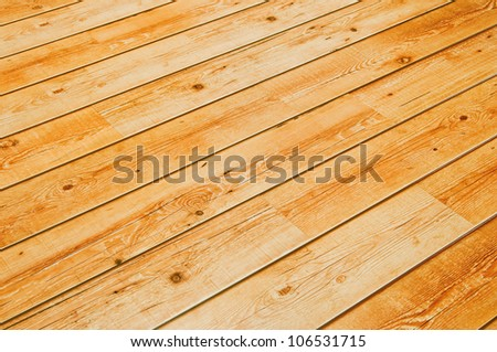 Abstract Background Wooden Floor Boards - stock photo