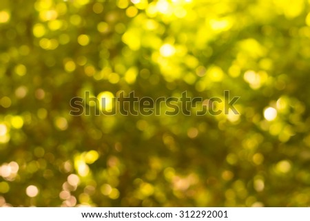 abstract background yellow bokeh circles background