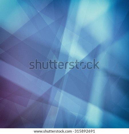 abstract backgrounds,blue and white lines stripes and shapes with soft lighting - stock photo