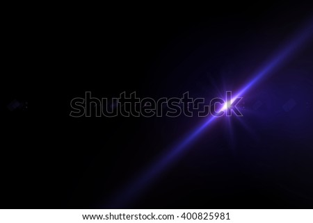 Abstract backgrounds lights on black background - stock photo