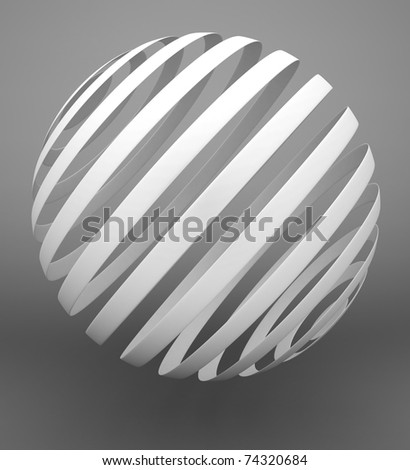 Abstract ball - stock photo