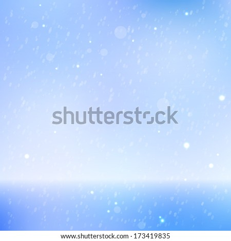 Abstract beautiful sea and sky background.   illustration - stock photo