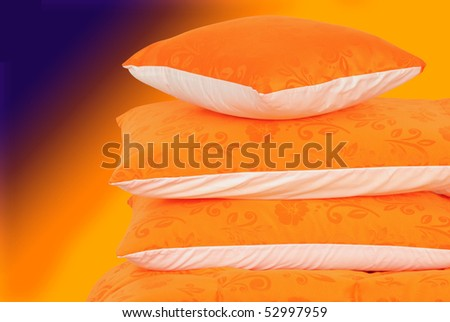 Abstract bedding. - stock photo