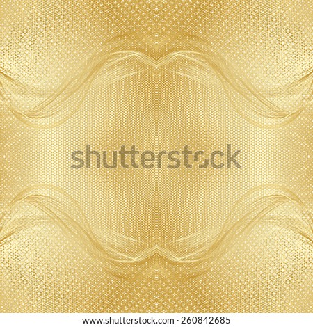 abstract beige floral pattern golden gay texture background raster - stock photo