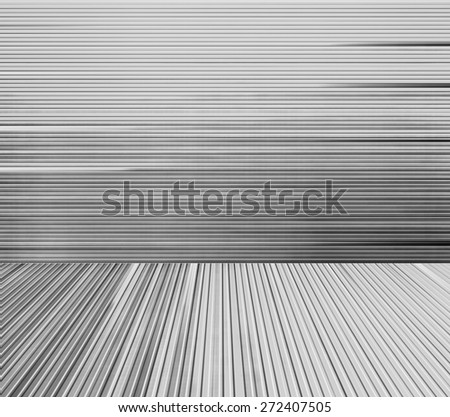 Abstract black and white background with motion blur effect