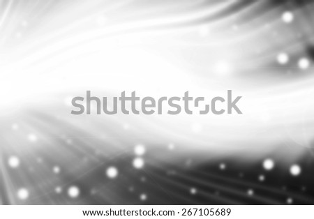 abstract  black and white   background with motion  ray technology - stock photo