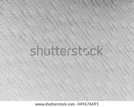 Abstract black and white fabric blurry texture
