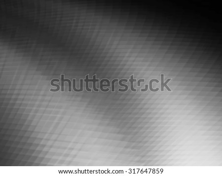 Abstract black and white grids background with motion blur effect