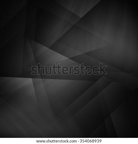 Abstract black background illustration