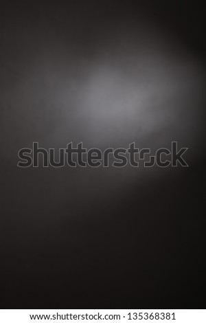 abstract black background, old black vignette border frame on white gray background, - stock photo