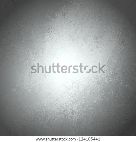 abstract black background, old black vignette border frame on white gray background, vintage grunge background texture design, black and white monochrome background for printing brochures or papers - stock photo