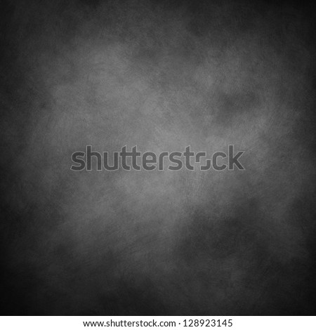 abstract black background, old black vignette border frame on white gray background, vintage grunge background texture design - stock photo