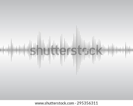 Abstract black sound waves background for parties, clubs, discos and concerts. - stock photo