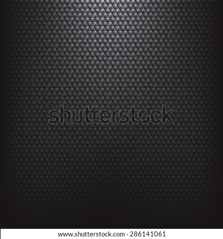 Abstract black textured background. - stock photo