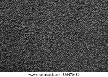 abstract  black textured leather background - stock photo