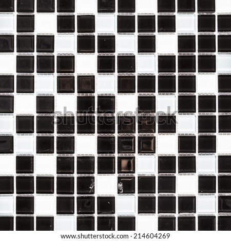 abstract black tile background