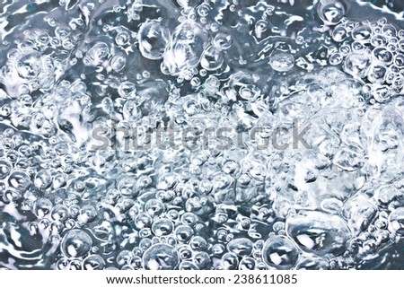 Abstract black water bubble texture. - stock photo