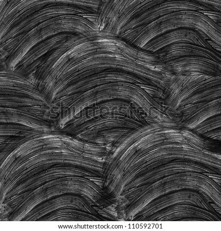 Abstract black watercolor background - stock photo