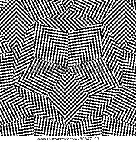 Abstract Black & White Background (Vector version also available) - stock photo