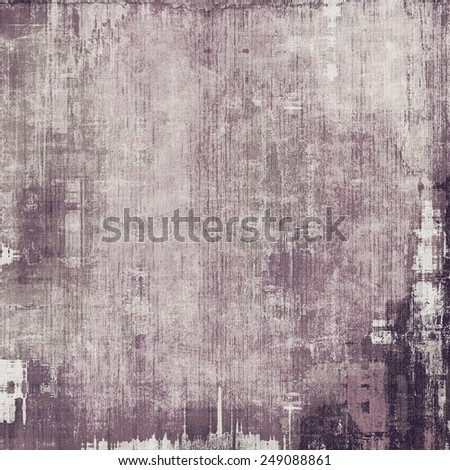Abstract blank grunge background, old texture with stains and different color patterns: brown; gray; black