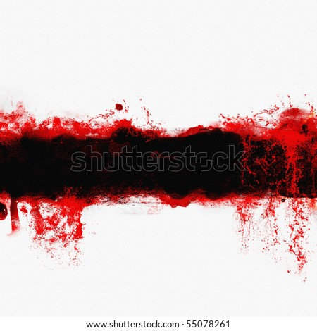 abstract blood banner