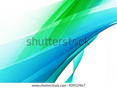 abstract blue and green background texture - stock photo