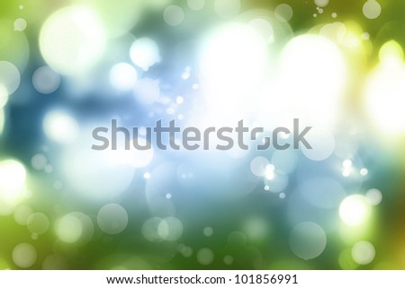 Abstract blue and green tone background - stock photo