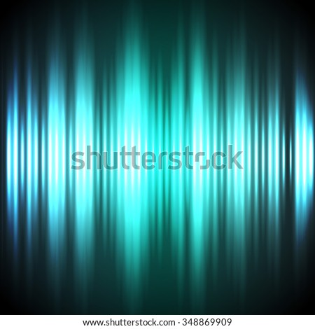 Abstract blue and green vertical lights dark background.  - stock photo