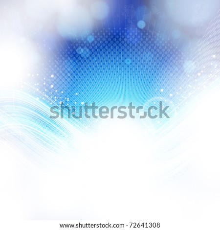 abstract blue and light background. - stock photo