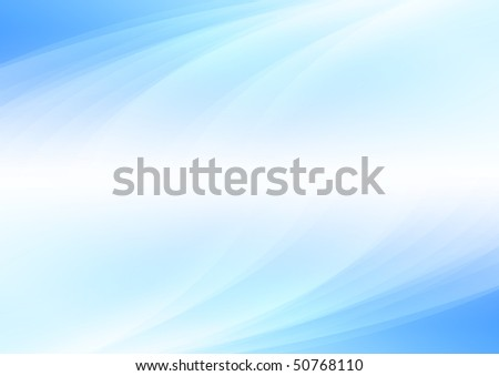 Abstract blue background (bitmap) - stock photo