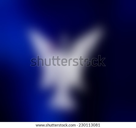 Abstract blue background ,blur.