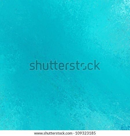 abstract blue background design layout with light bright vintage grunge background texture sponge distressed style framing border for web template or brochure or fun kid school project background - stock photo
