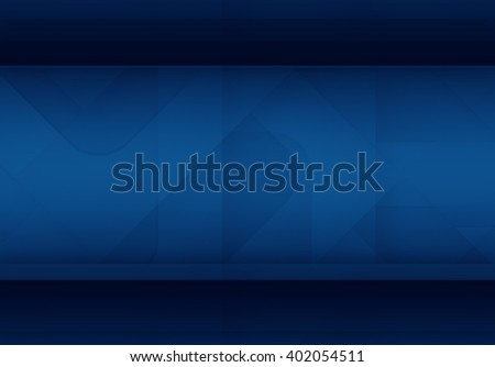 Abstract blue background for technology, business, computer or electronics products - stock photo