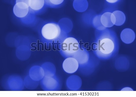 Abstract blue background made from glowing lights