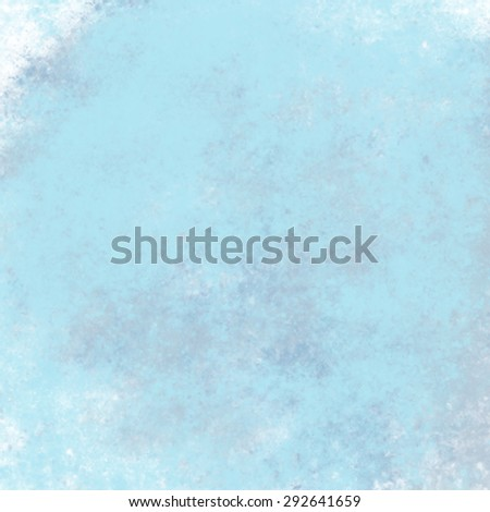abstract blue background messy stained frame, vintage grunge background texture design elegant antique paint wall, sky blue background paper; web background templates; old background paint - stock photo