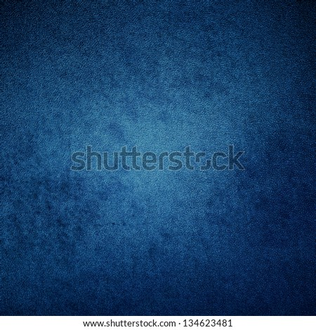 abstract blue background of elegant dark blue vintage grunge background texture black on border with light center - stock photo