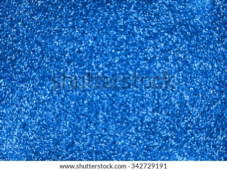 Abstract blue background of the balls - stock photo