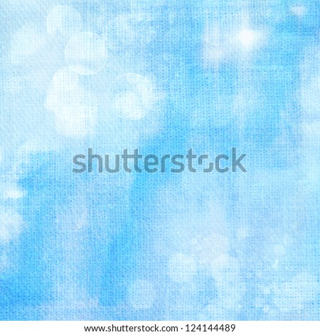 Abstract blue background or paper with grunge texture. For vintage layout design of colorful graphic art - stock photo