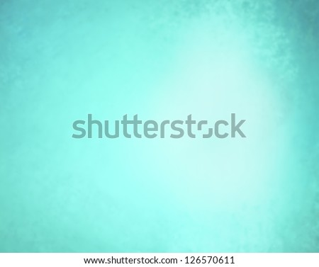 abstract blue background pastel Easter color or spring color of robins egg blue, faint vintage grunge background texture gradient design, bright spot, old sky blue paper faded dark edges, baby boy - stock photo