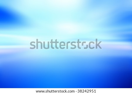Abstract blue background. Room for copy - stock photo
