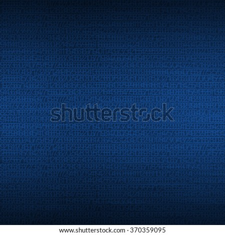 Abstract blue background showing the concept of data protection technologies